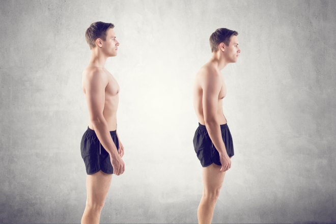 stand correctly with proper posture