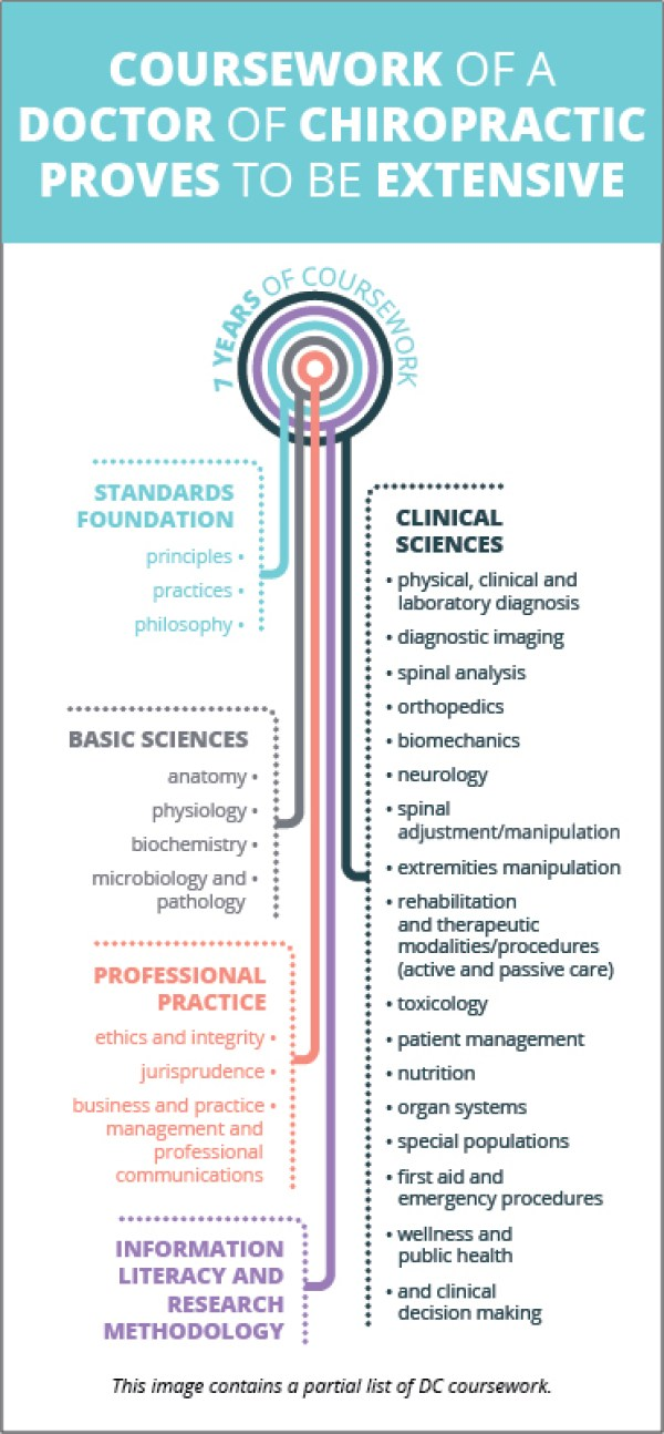 become a doctor of chiropractic