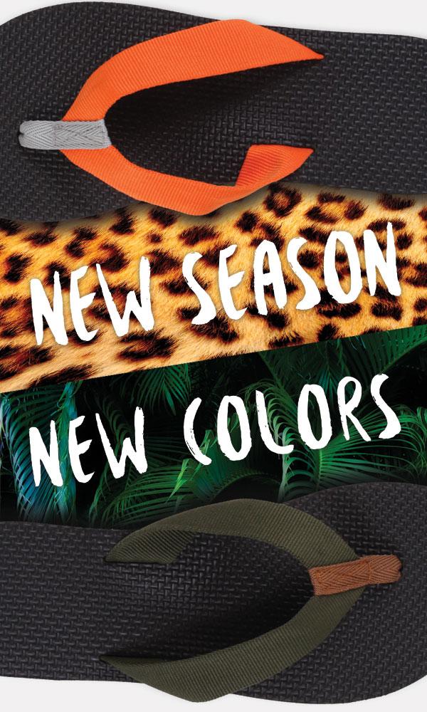 new flip flop colors