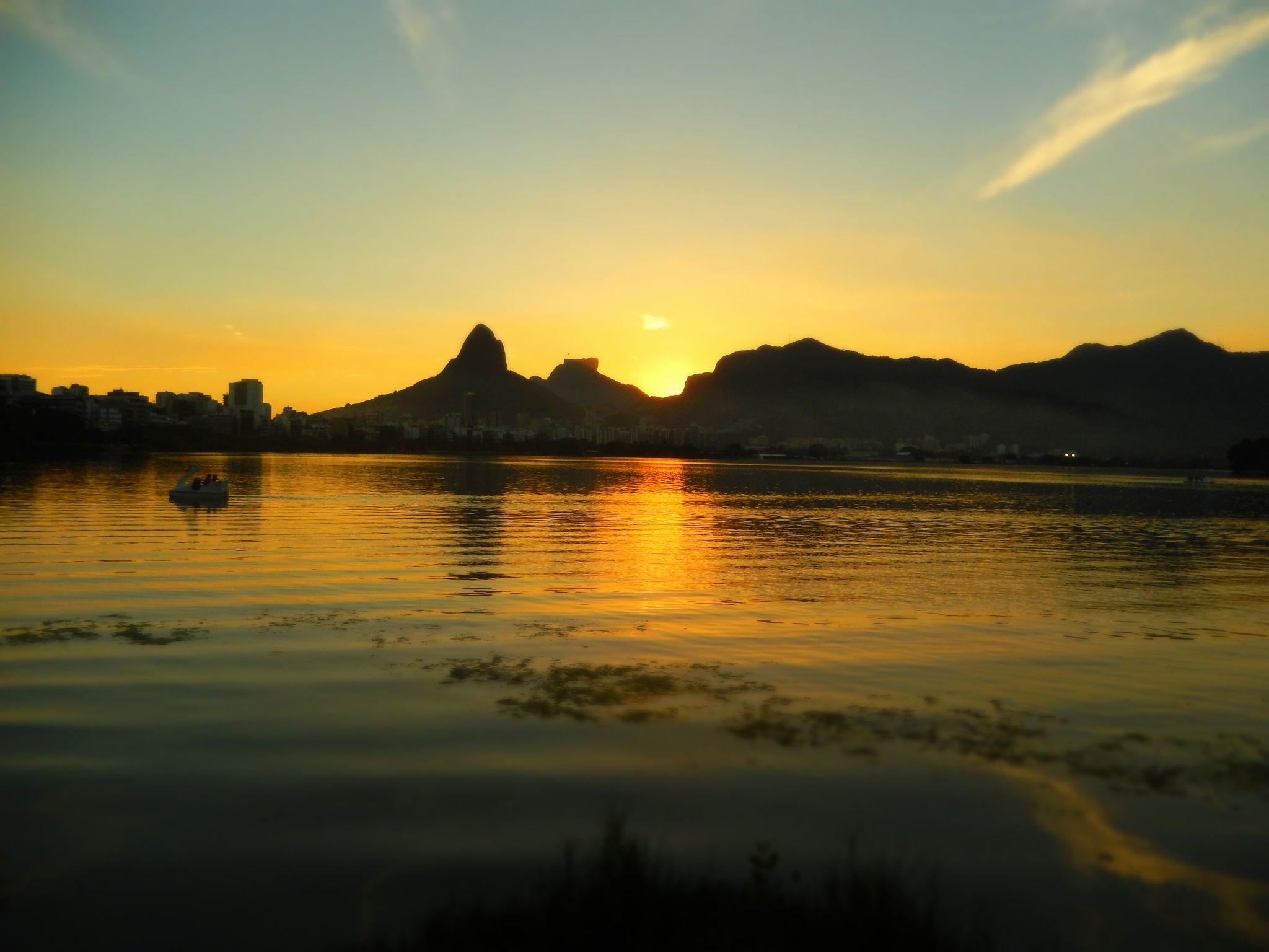 Ipanema Lago Rodrigas Freira Sunset