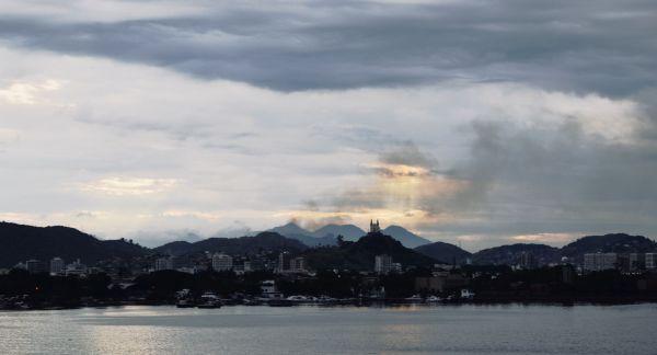 Rio de Janeiro Church sunset