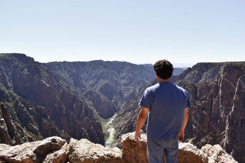 Gunnison Canyon in Colorado