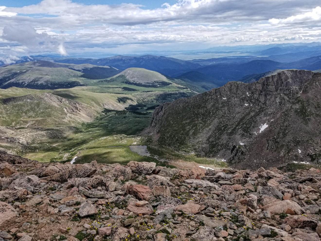 Mt Evans Colorado road trip