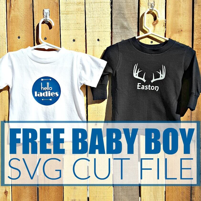 Download FREE BABY BOY SVG CUT FILES - Footprints of Inspiration