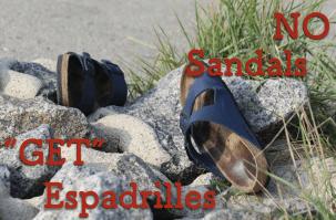 夏のメンズコーデに新たな選択肢を!サンダルではなくエスパドリーユ