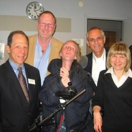 Dr Kaplan, Dr Nussbaum,Ann-Sofie,Dr Grunwald,Dr Shore Luleå 2008