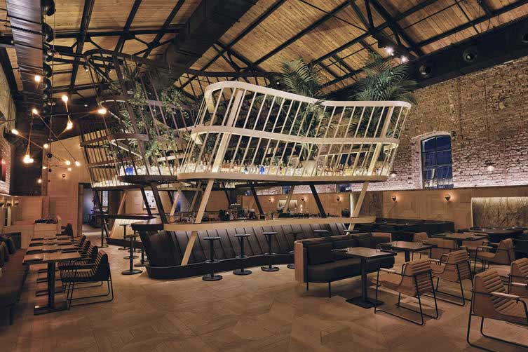 Restaurant Au Design Industriel Istanbul