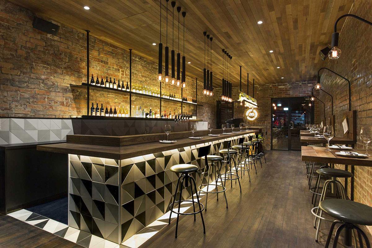 deco bar industriel 5 cafes inspirant