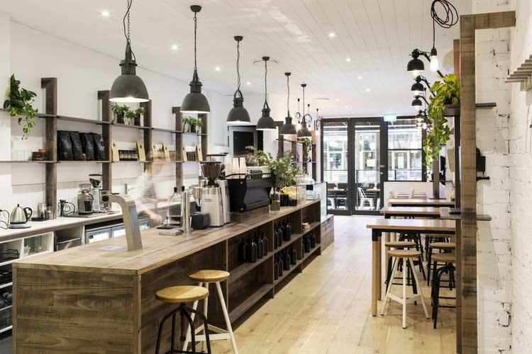 Un Caf La Dco Intrieure Style Industriel