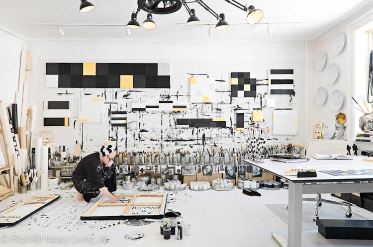 Comment Dcorer Un Atelier Dartiste Peintre Pour
