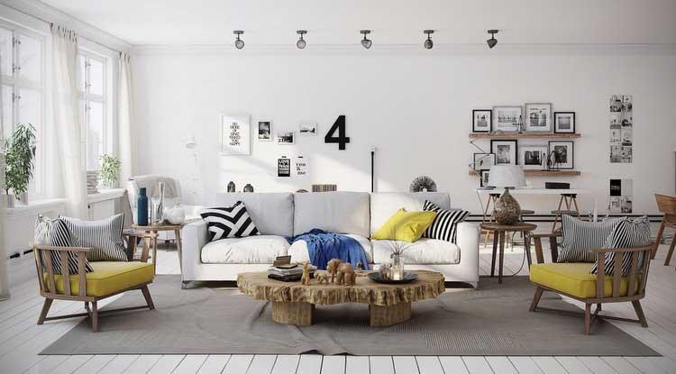 13 astuces pour creer une deco scandinave dans votre salon salon scandinave