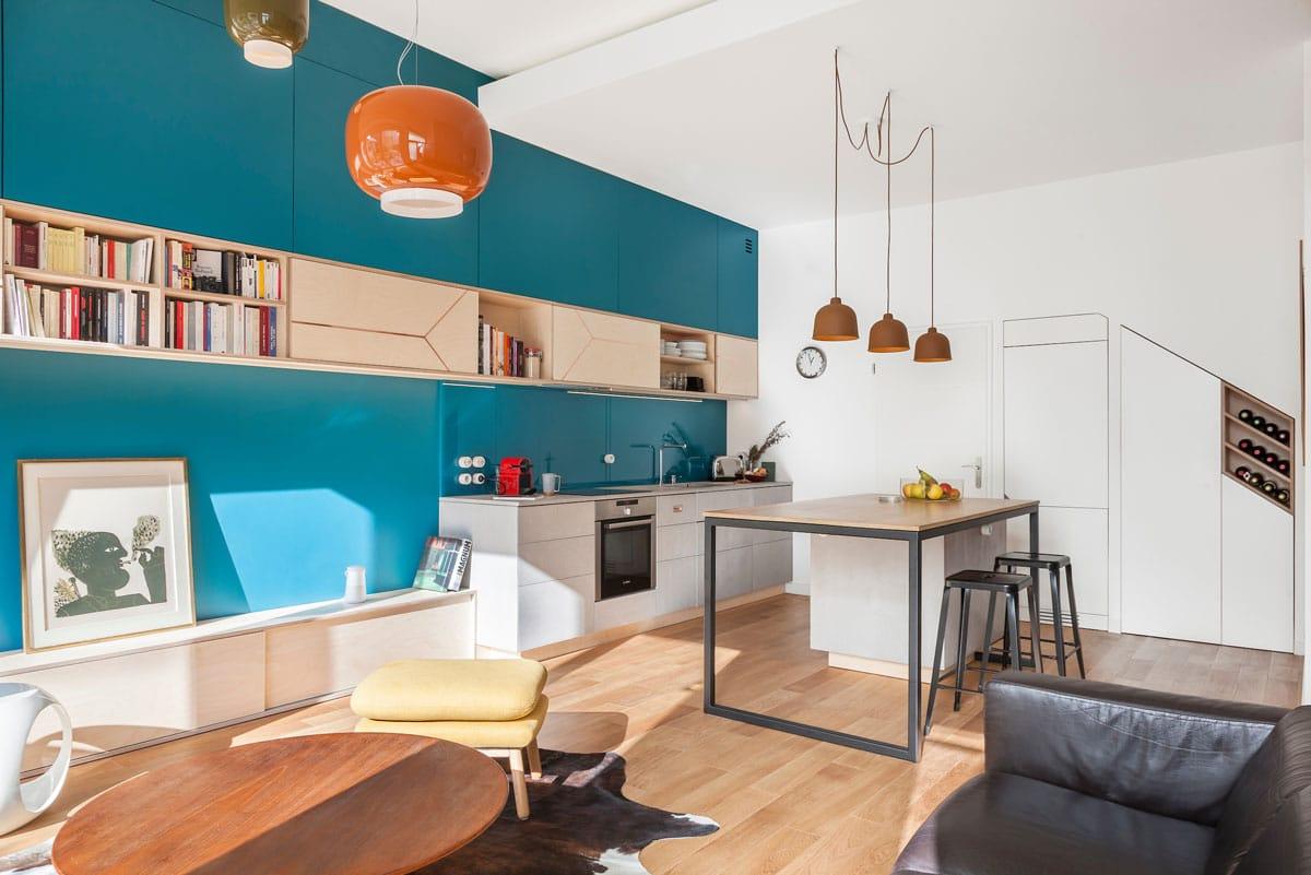 cuisine bleu canard