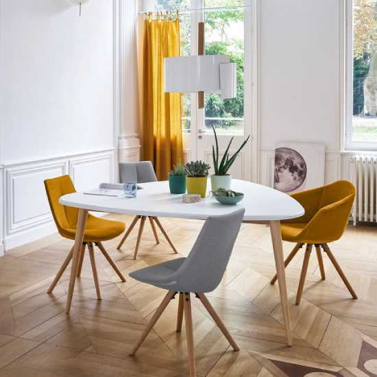 quelle table a manger scandinave