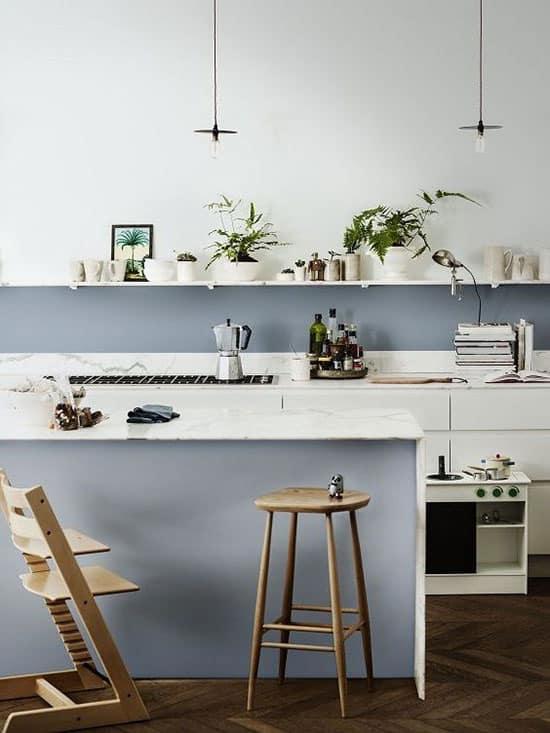 cuisine bleue les 10 nuances tendance