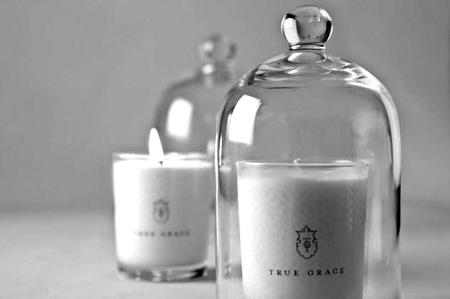 bougies et senteurs true grace for interior living. Black Bedroom Furniture Sets. Home Design Ideas