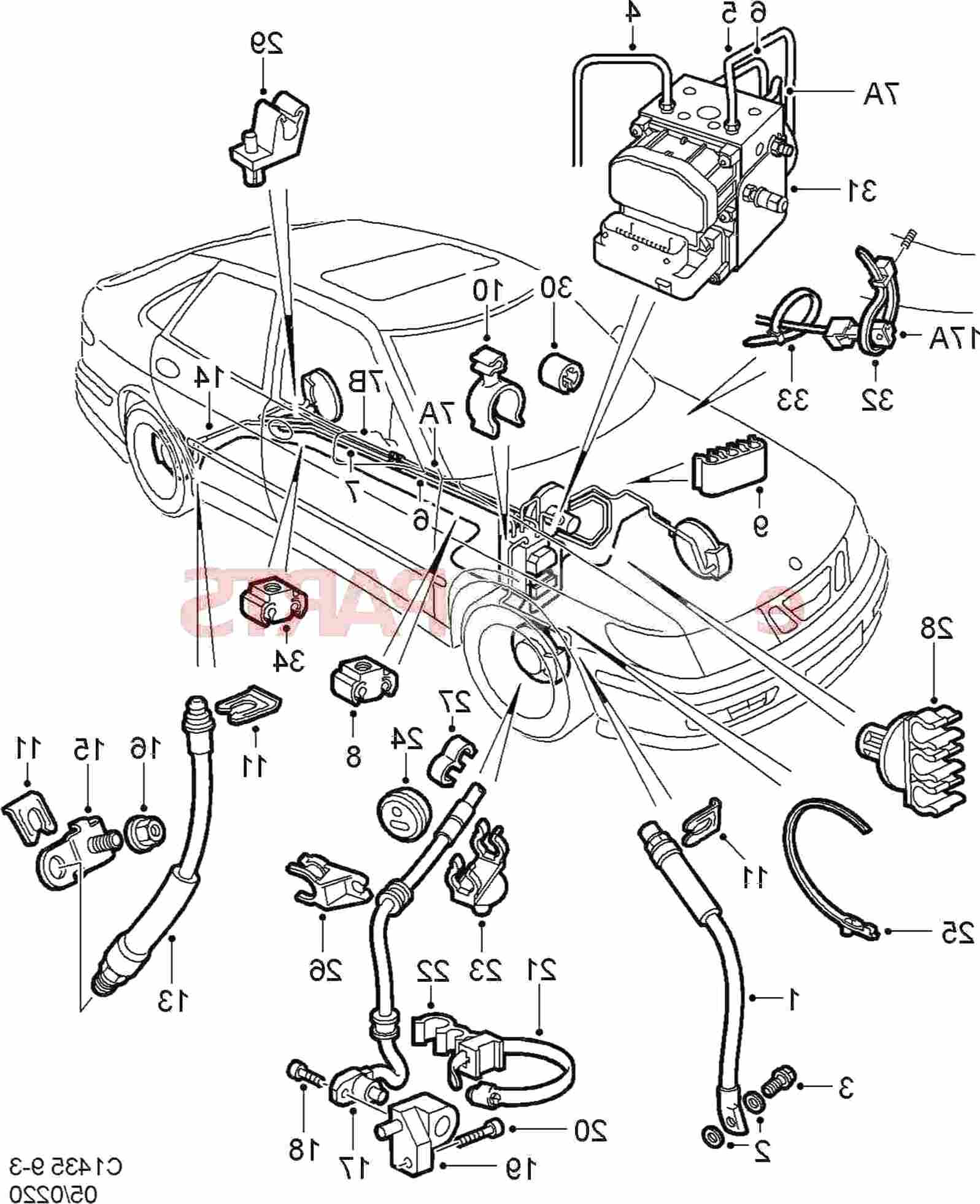 Saab Abs Sensor For Sale In Uk