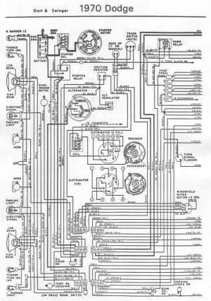 70 Dart wiring diagram | For A Bodies Only Mopar Forum