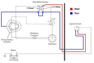 Mopar electronic ignition wiring schematic question | For