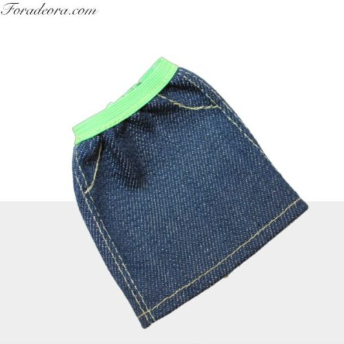 finest selection 46eae 78b57 Gonna Jeans Verde