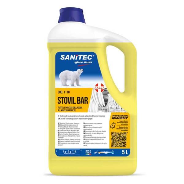 detergente per lavastoviglie industriali liquido con brillantante in tanica da 5 lt codice 1110