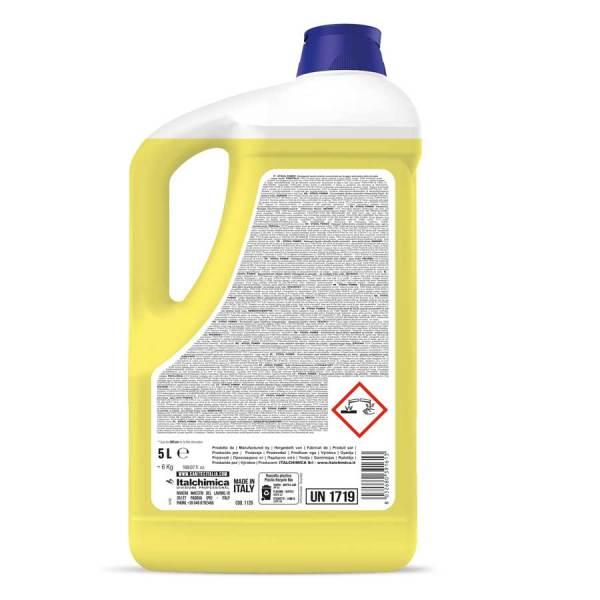 detergente per lavastoviglie industriali liquido in tanica da 5 lt codice 1120
