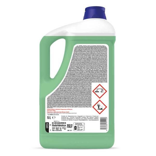 disinfettante liquido presidio medico chirurgico con azione battericida e fungicida h.a.c.c.p. in tanica da 5 lt sanimed codice 1511