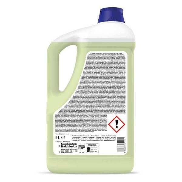 sanitec lavatrice al muschio bianco liquido per bianchi e colorati in tanica da 5 lt washdet orchidea muschio codice 2025.