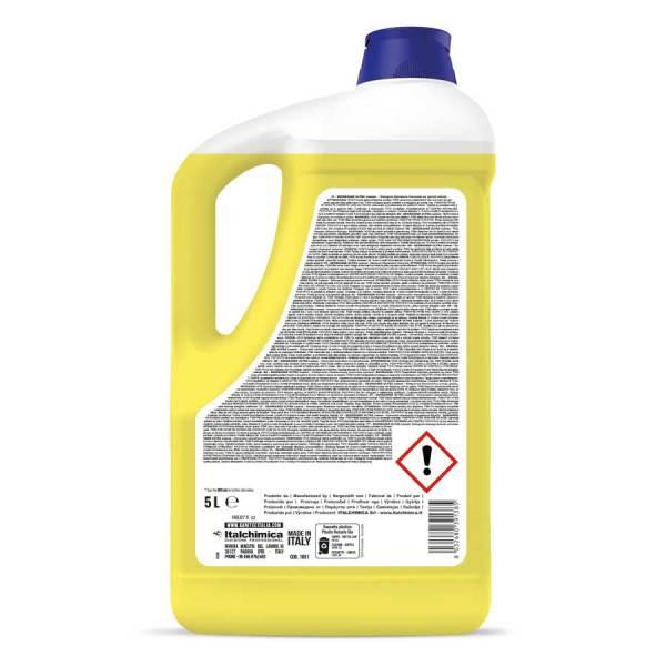 sgrassatore universale liquido per sporco ostinato profumato al limone h.a.c.c.p. in tanica da 5 lt degreaser ultra codice 1801