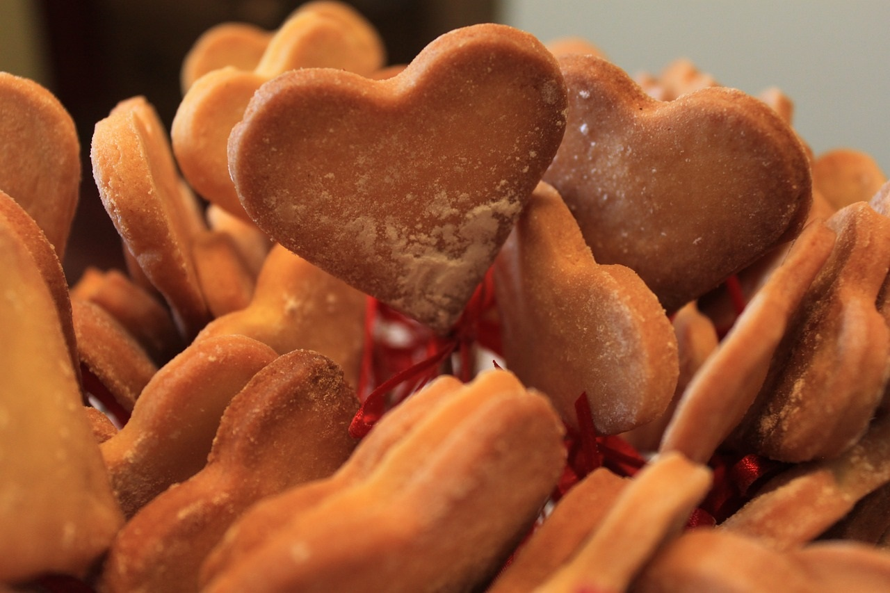 Valentine's Day Dessert - Heart Cookies