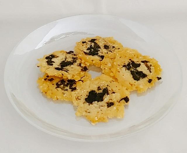 Wild Garlic & Parmesan Wafers