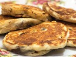 wild mushroom pancakes