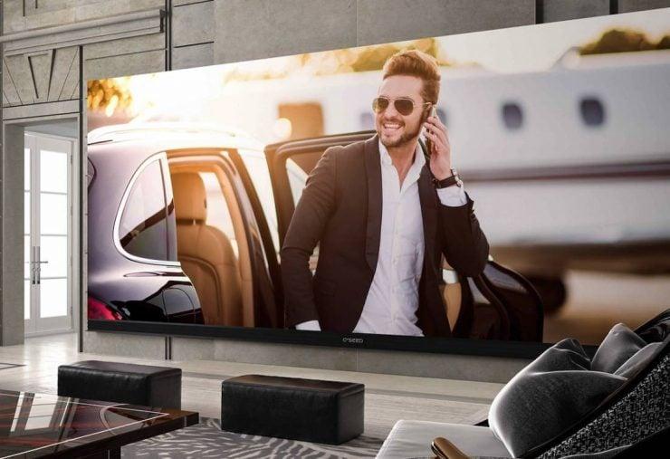 la plus grande television 4k au monde