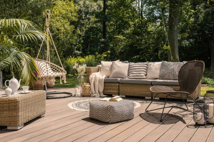 sa terrasse en salon de jardin
