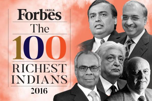 Mukesh Ambani tops Forbes' list of richest Indians for ...