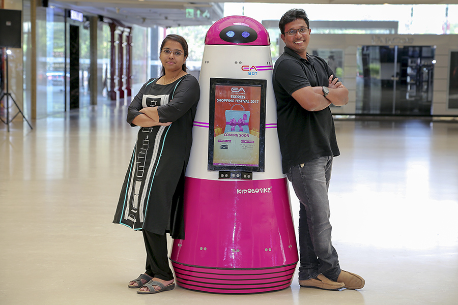 bg pranav&sneha_sp robotic works