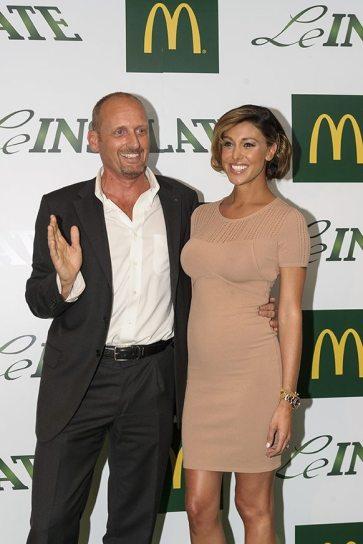 Belen Rodriguez e Marco Ferrero per McDonald's