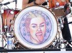 La batteria con il volto di Miley Cyrus | © /Getty Images