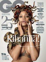 Rihanna sulla cover di GQ