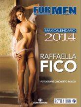 Il calendario 2014 di Raffaella Fico | © For Men