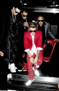 L'arrivo di Justin Bieber | © Getty Images