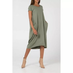 FF-KHAKI2POCKETDRESS