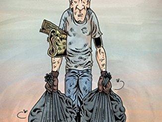 Trashed Derf Forbidden Planet