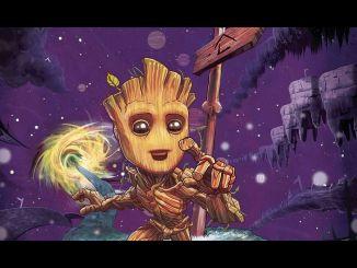 I am Groot Marvel Comics #1 2017
