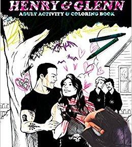 Henry and Glenn coloring activity book Tom Neely Glenn Danzig Henry Rollins