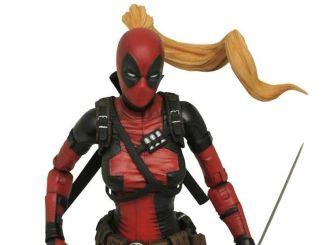 Marvel Lady Deadpool Action Figure Select Diamond Toys