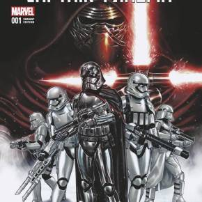 Captain Phasma comic book Marvel Comics prequel origin story Kelly Thompson