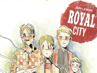 Royal City Jeff Lemire Image Comics