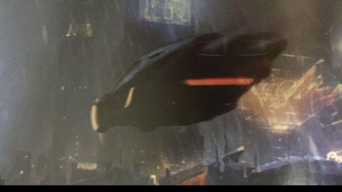 Art and Soul of Blade Runner 2049 Spinner