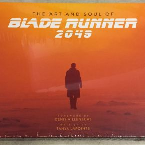 Front Cover Blade Runner art book Harrison Ford