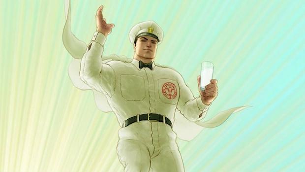 Milk Wars JLA Doom Patrol Gerard Way DC Comics